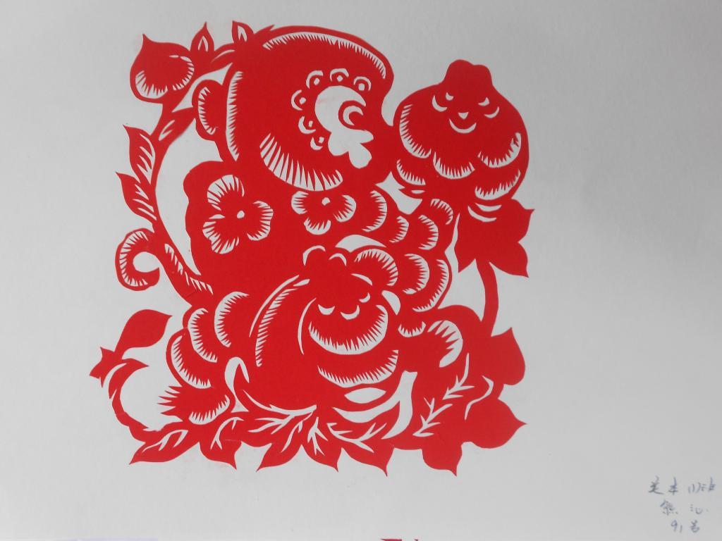 学生剪纸作品-安顺学院艺术系网站